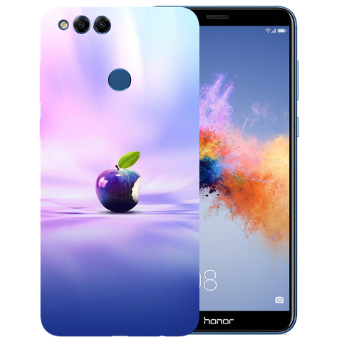 Apple Art Printed Case Cover For HONOR 7X by Mobiflip