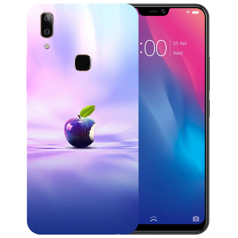 Apple Art Printed Case Cover For VIVO V9 Youth by Mobiflip