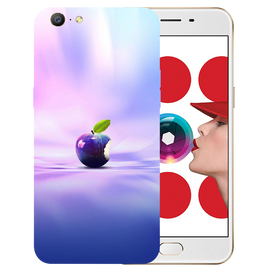 Apple Art Printed Case Cover For OPPO A57 by Mobiflip