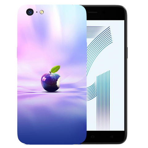 Apple Art Printed Case Cover For OPPO A71 by Mobiflip
