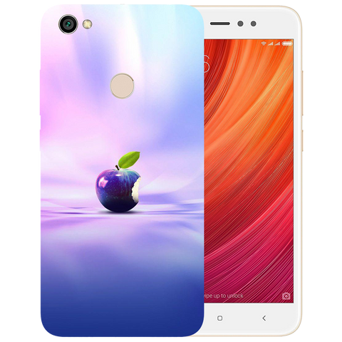Apple Art Printed Case Cover For Redmi Y1 by Mobiflip