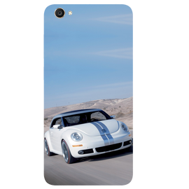 Volkswagen Beetle Printed Case Cover For VIVO Y55 by Mobiflip