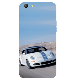 Volkswagen Beetle Printed Case Cover For OPPO A57 by Mobiflip