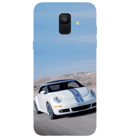 Volkswagen Beetle Printed Case Cover For Samsung A6 by Mobiflip