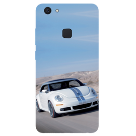 Volkswagen Beetle Printed Case Cover For VIVO V7 Plus by Mobiflip