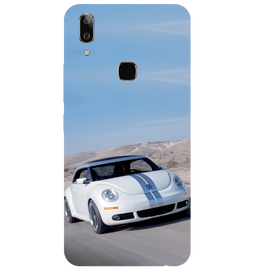 Volkswagen Beetle Printed Case Cover For VIVO V9 Youth by Mobiflip