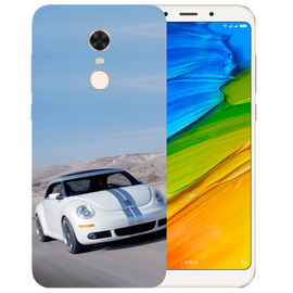 Volkswagen Beetle Printed Case Cover For Redmi 5 Plus by Mobiflip
