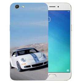 Volkswagen Beetle Printed Case Cover For OPPO F3 by Mobiflip
