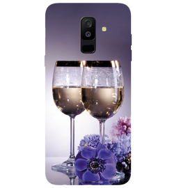 Wine Glass Printed Case Cover For Samsung C7 Pro by Mobiflip