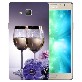Wine Glass Printed Case Cover For Samsung J2 2016 by Mobiflip