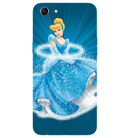 Barbie Angel Printed Case Cover For OPPO A83 by Mobiflip