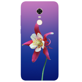 Flowers Printed Case Cover For Redmi 5 Plus by Mobiflip