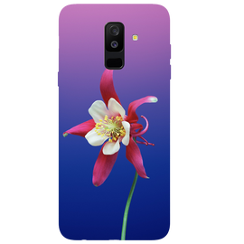 Flowers Printed Case Cover For Samsung A6 Plus by Mobiflip
