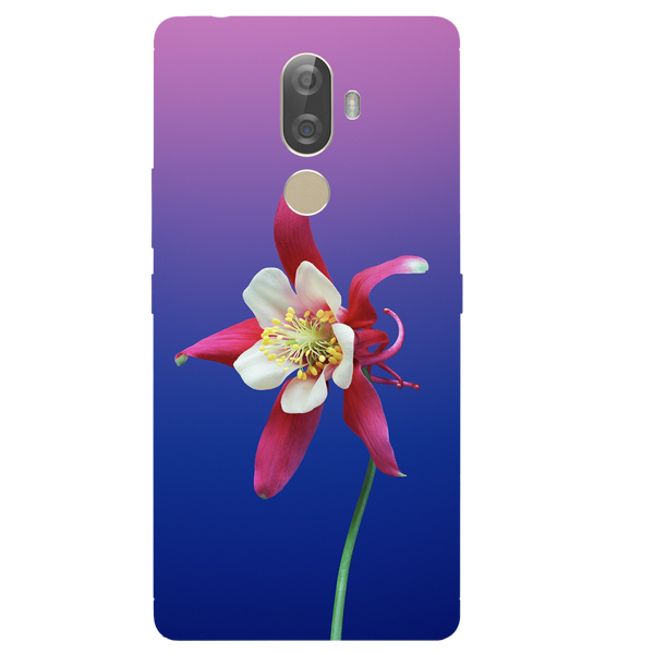 Flowers Printed Case Cover For Lenovo K8 Note Plus by Mobiflip
