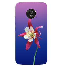 Flowers Printed Case Cover For Motorola G5 by Mobiflip