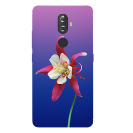 Flowers Printed Case Cover For Lenovo K8 Plus by Mobiflip