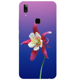 Flowers Printed Case Cover For VIVO V9 Youth by Mobiflip