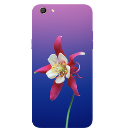 Flowers Printed Case Cover For OPPO F3 by Mobiflip