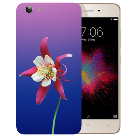 Flowers Printed Case Cover For VIVO Y53 by Mobiflip