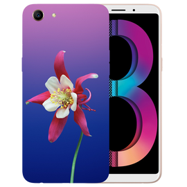 Flowers Printed Case Cover For OPPO A83 by Mobiflip
