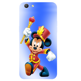 Mickey Mouse Printed Case Cover For OPPO A57 by Mobiflip