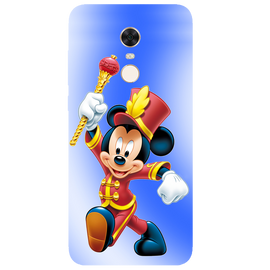 Mickey Mouse Printed Case Cover For Redmi 5 Plus by Mobiflip