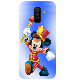 Mickey Mouse Printed Case Cover For Samsung A6 Plus by Mobiflip