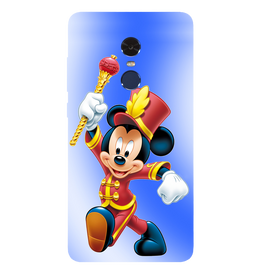 Mickey Mouse Printed Case Cover For Redmi Note 4 by Mobiflip