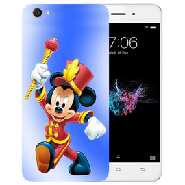 Mickey Mouse Printed Case Cover For VIVO Y55 by Mobiflip
