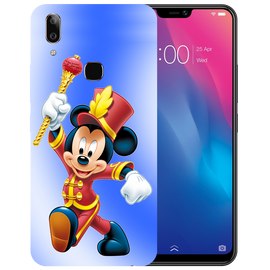 Mickey Mouse Printed Case Cover For VIVO V9 Youth by Mobiflip