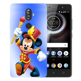 Mickey Mouse Printed Case Cover For Lenovo K8 Plus by Mobiflip