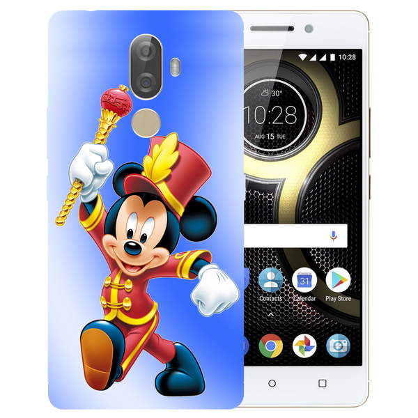 Mickey Mouse Printed Case Cover For Lenovo K8 Note Plus by Mobiflip