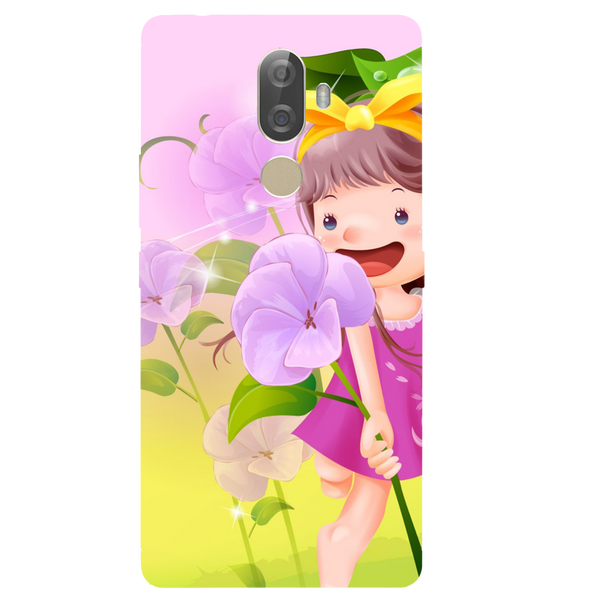 Pink Doll Printed Case Cover For Lenovo K8 Note Plus by Mobiflip
