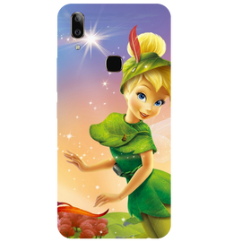 Green Doll Printed Case Cover For VIVO V9 Youth by Mobiflip