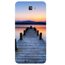 Wooden Bridge Printed Case Cover For Samsung J7 Prime 2 by Mobiflip