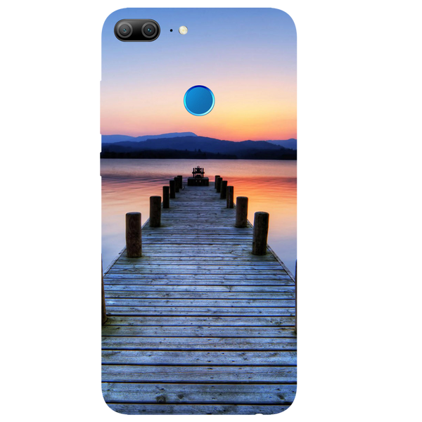 Wooden Bridge Printed Case Cover For HONOR 9 Lite by Mobiflip