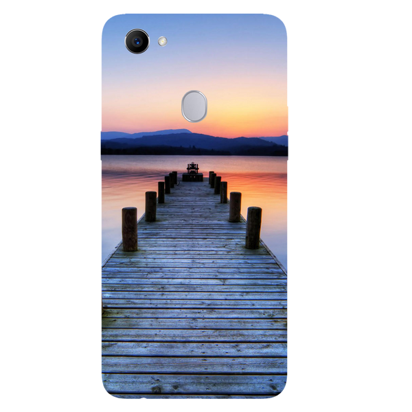 Wooden Bridge Printed Case Cover For OPPO F7 by Mobiflip