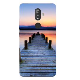 Wooden Bridge Printed Case Cover For Lenovo K8 Plus by Mobiflip
