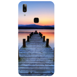 Wooden Bridge Printed Case Cover For VIVO V9 Youth by Mobiflip