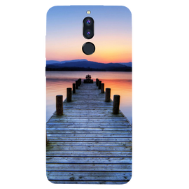 Wooden Bridge Printed Case Cover For HONOR P9I by Mobiflip