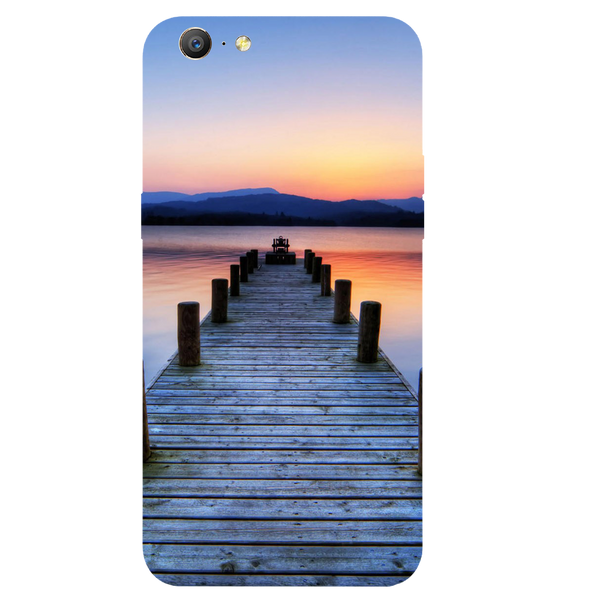 Wooden Bridge Printed Case Cover For OPPO A57 by Mobiflip
