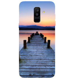 Wooden Bridge Printed Case Cover For Samsung A6 Plus by Mobiflip