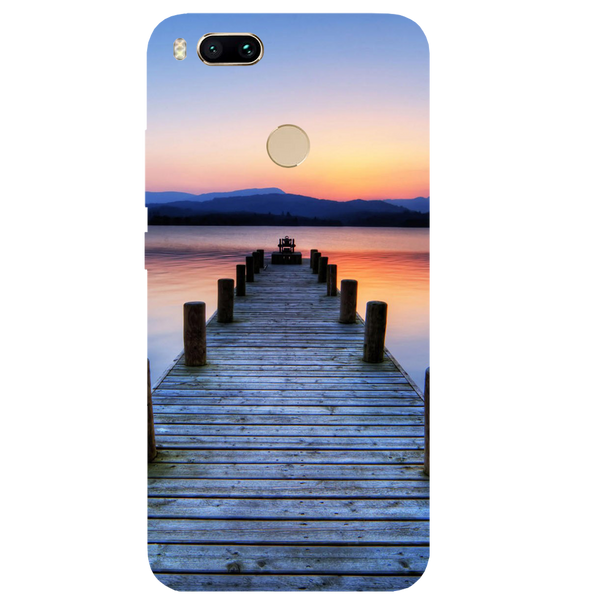 Wooden Bridge Printed Case Cover For Redmi MI A1 by Mobiflip