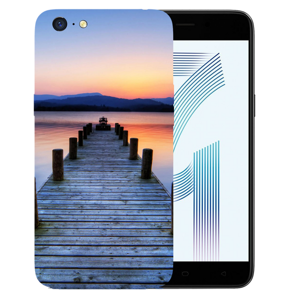 Wooden Bridge Printed Case Cover For OPPO A71 by Mobiflip