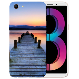 Wooden Bridge Printed Case Cover For OPPO A83 by Mobiflip