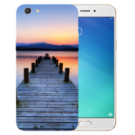 Wooden Bridge Printed Case Cover For OPPO F3 by Mobiflip