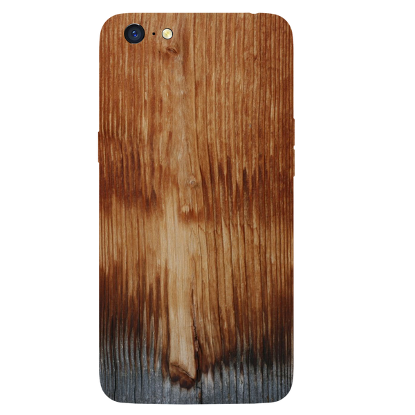 Wooden Art Printed Case Cover For OPPO A71 by Mobiflip