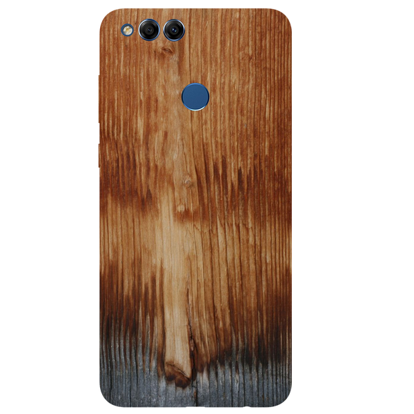 Wooden Art Printed Case Cover For HONOR 7X by Mobiflip