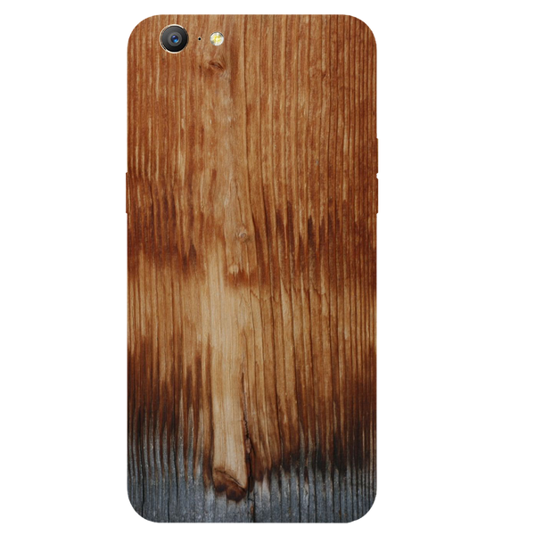 Wooden Art Printed Case Cover For OPPO A57 by Mobiflip