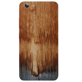 Wooden Art Printed Case Cover For VIVO Y53 by Mobiflip